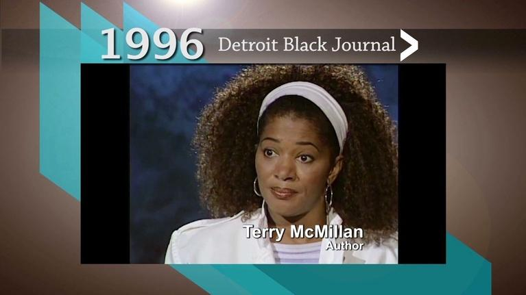 American Black Journal: 1996 Detroit Black Journal Clip: Terry McMillan