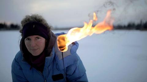 Frozen Methane