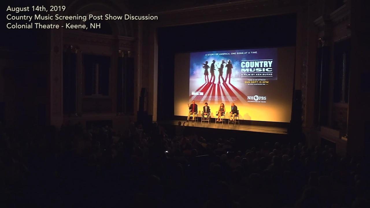 Post Screening Discussion - Celebrating Country Music