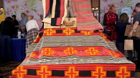 Antiques Roadshow -- Appraisal: Navajo & Hopi Wearing Blankets, ca. 1875