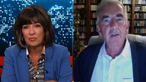 Amanpour and Company -- Robert Harris Reflects on the Passing of Sir Harold Evans