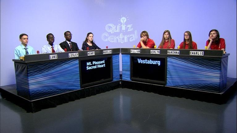 Quiz Central: Mt. Pleasant Sacred Heart Academy vs. Vestaburg