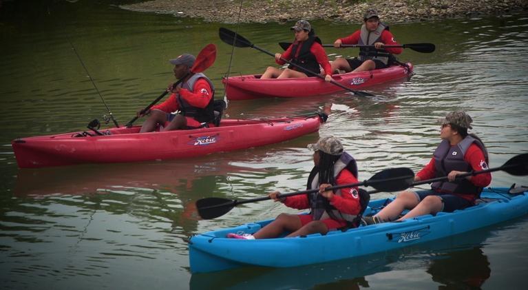 Texas Parks and Wildlife: San Antonio Float, Green Jays & Fanthorp Inn