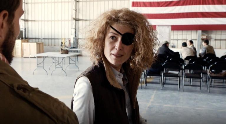 "Flicks: Rosamund Pike for ""A Private War"""