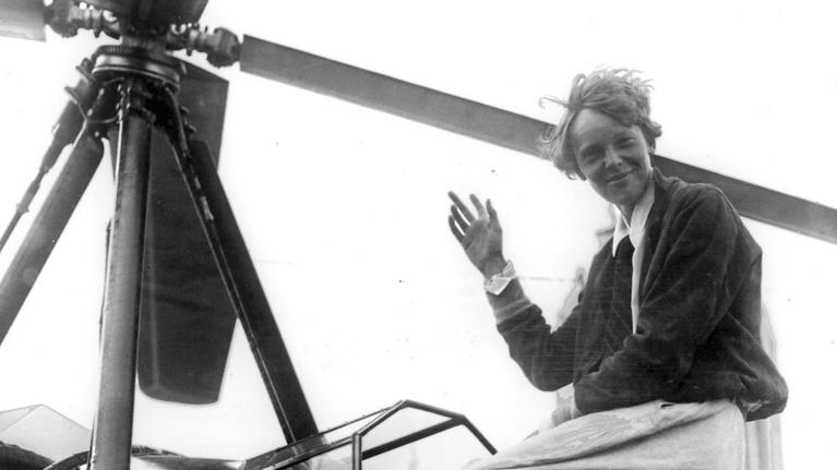 WLRN History: Amelia Earhart's Last Flight