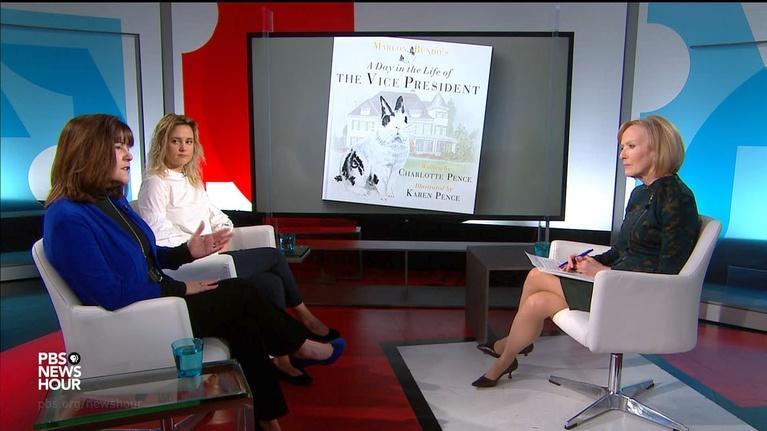 PBS NewsHour: Charlotte Pence hopes 'Marlon Bundo' brings people together