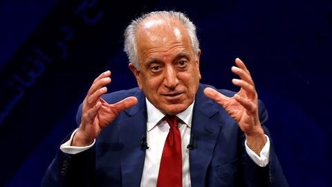 PBS NewsHour -- Ambassador Khalilzad on a 'hopeful place' for Afghan peace