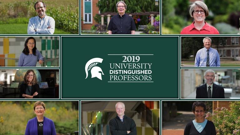 MSU Video: MSU 2019 University Distinguished Professors