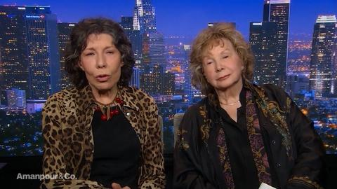 Amanpour and Company -- Lily Tomlin & Jane Wagner on Their Careers and Partnership