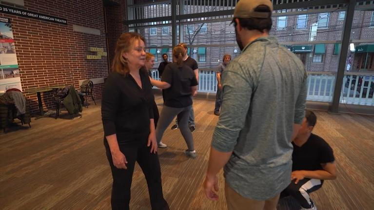 State of the Arts: Stage Fight Master Class at Two River Theater