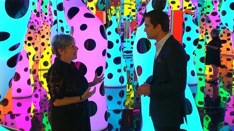 Open Studio with Jared Bowen: Artist Yayoi Kusama at the ICA & Actress Liv Ullmann