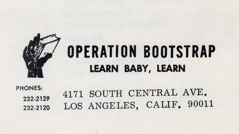 Lost LA -- Operation Bootstrap