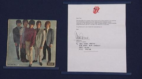 Antiques Roadshow -- Appraisal: 1964 Rolling Stones-signed Record