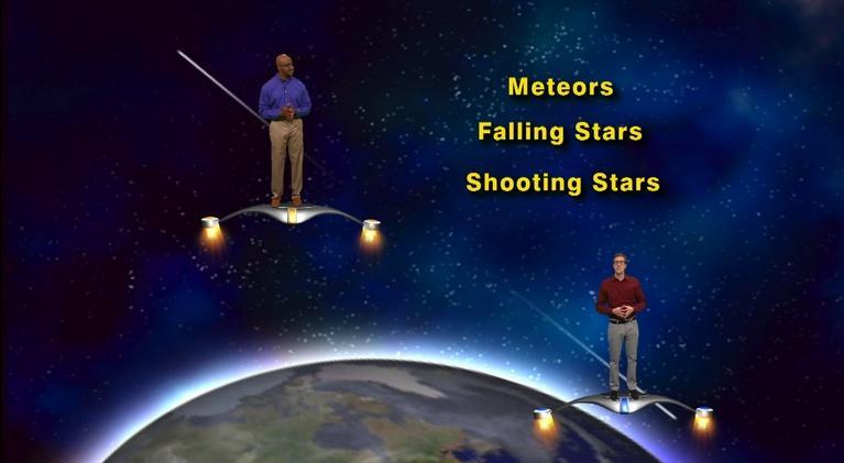 "Star Gazers: ""Summer Meteor Shower"" July 30 - Aug 5th 5 Min"