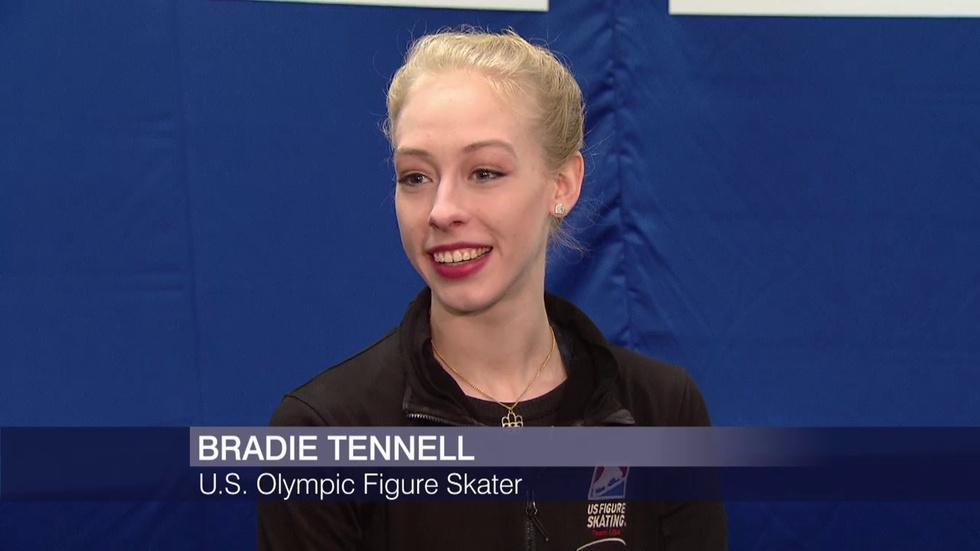 On the Ice With Bradie Tennell, Team USA Figure Skater image