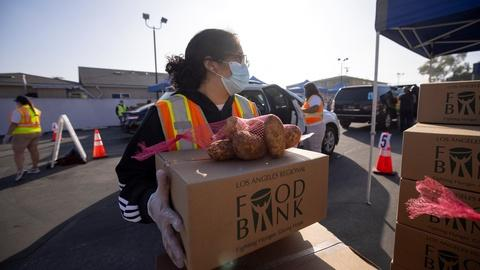 PBS NewsHour -- As the holidays approach, demand for food soars in the U.S.