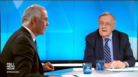 PBS NewsHour -- Shields and Brooks on the whistleblower complaint
