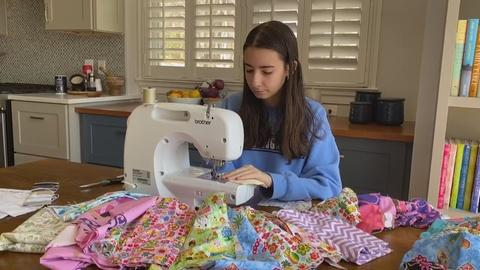 Mask shortage spurs Americans to take action -- by sewing