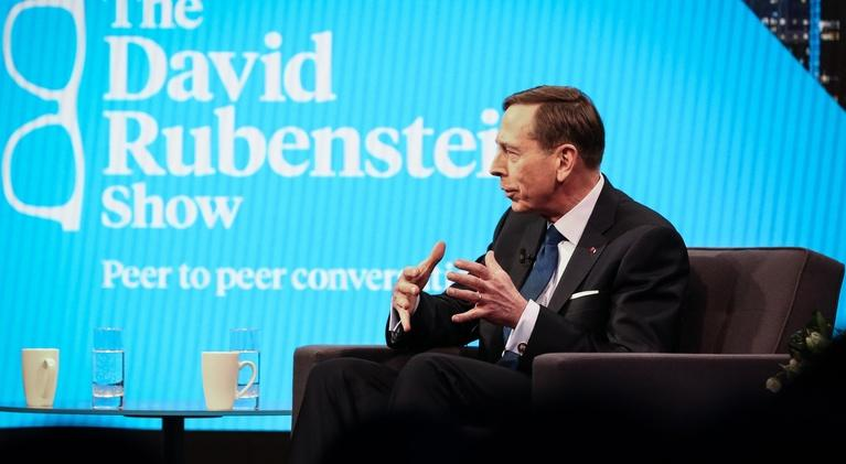 The David Rubenstein Show: Peer to Peer Conversations: David Petraeus (Part 2)