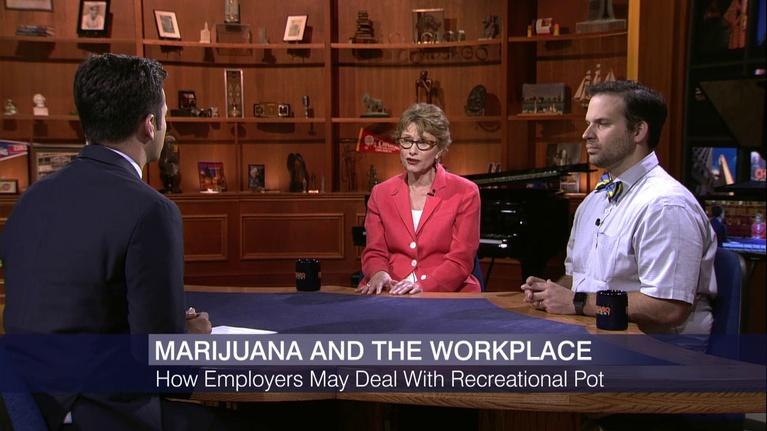 Chicago Tonight: How Illinois Employers Might Handle Recreational Marijuana