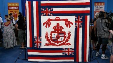 Appraisal: Hawaiian Flag Quilt, ca. 1915