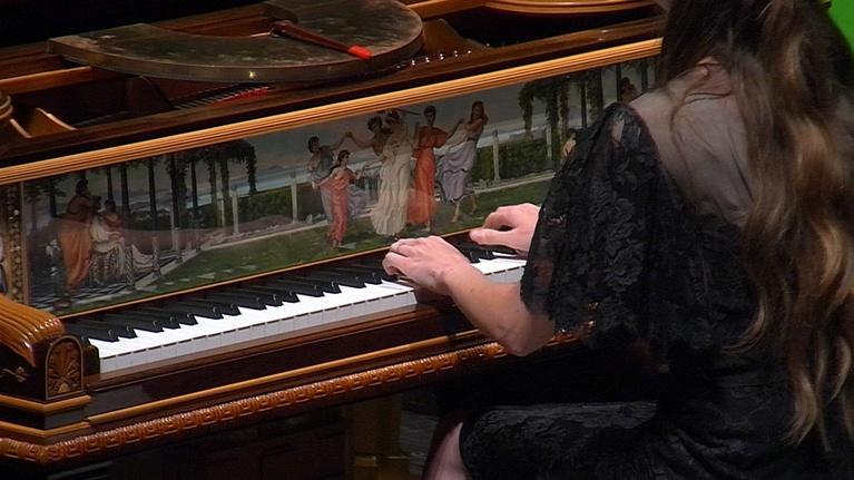 WFSU Music: The 5 Browns Steinway Art Case Piano concert at FSU