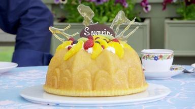 Fancy a Savarin with Chantilly Cream?