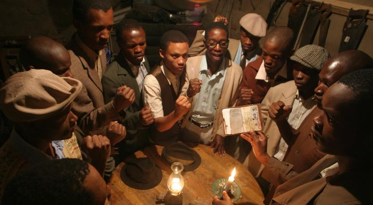 AfroPoP: The Ultimate Cultural Exchange: Twelve Disciples of Nelson Mandela and Spit on the Broom