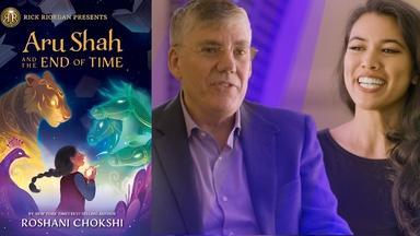 Rick Riordan & Roshani Chokshi – LA Times Festival of Books