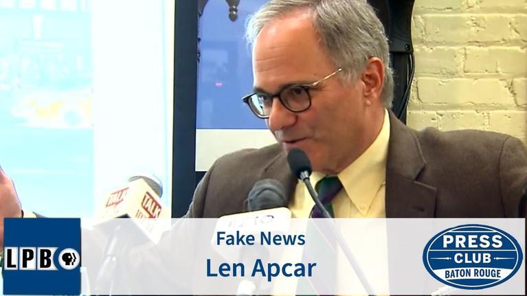 Press Club: Fake News | Len Apcar | 02/24/20 | Press Club