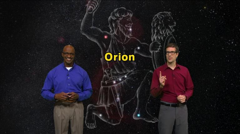 """Star Gazers: """"Orion from a New Perspective"""" December 24 - Dec 30 5 Min"""