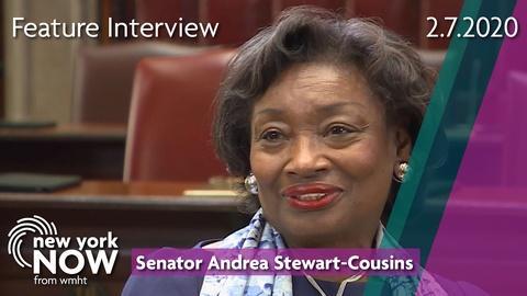 S2020 E6: Senator Andrea Stewart-Cousins on opioid crisis, marijuana