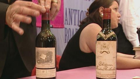 Antiques Roadshow -- S21 Ep24: Appraisal: 1928 & 1959 Bordeaux Wine Bottles
