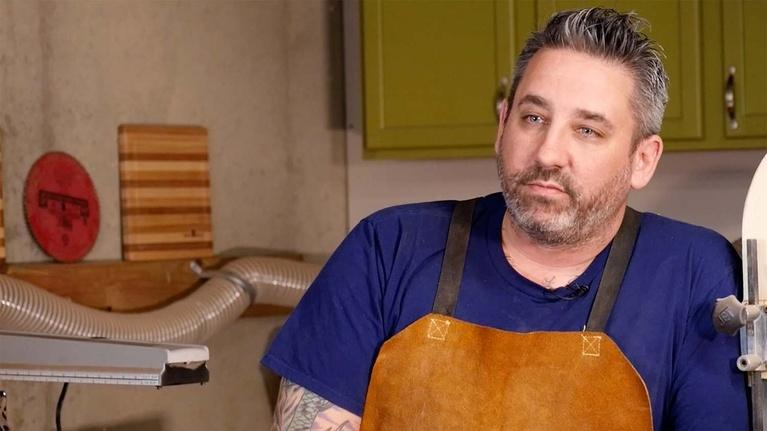 Chefs off the Clock: Rick Gresh: Wood and Leatherworker