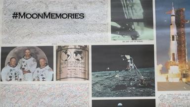 Moon Memories | Signature on the Moon