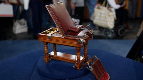 Antiques Roadshow -- Appraisal: Salesman's Sample Medical Exam Table, ca. 1890