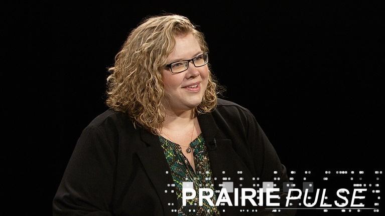 Prairie Pulse: Prairie Pulse 1706: Pam Sagness, Letterpress Museum