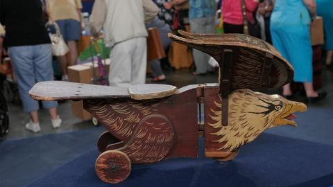 Antiques Roadshow -- Appraisal: S.A. Smith Eagle Riding Toy, ca. 1895