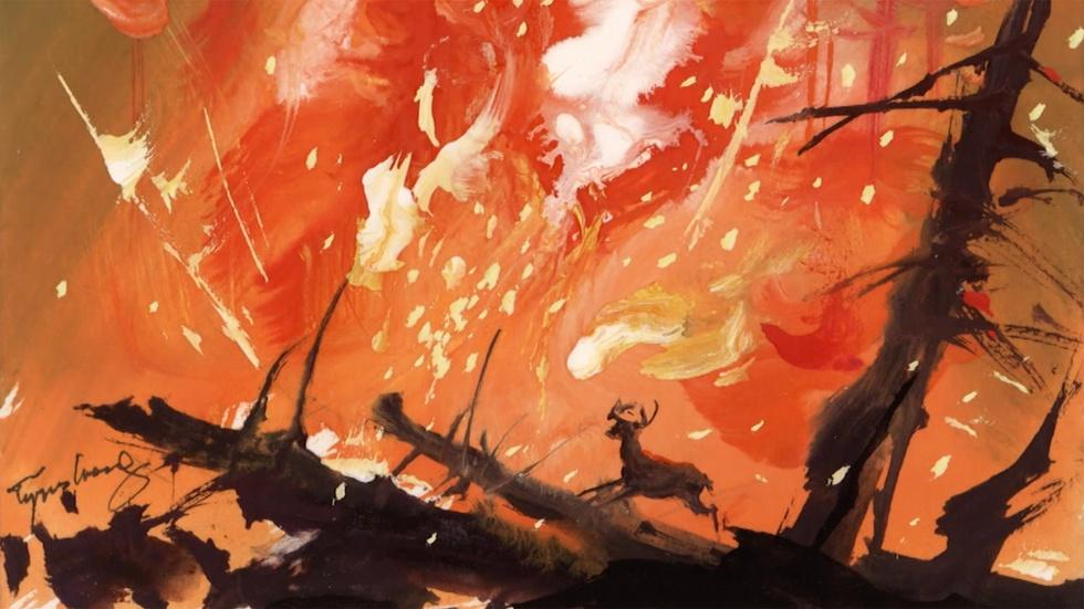 "Tyrus Wong's atmospheric work gave ""Bambi"" its unique style image"