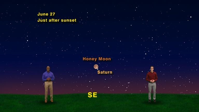 "Star Gazers: ""The Sixth Planet from the Sun"" June 18 - 24th 1 Min"