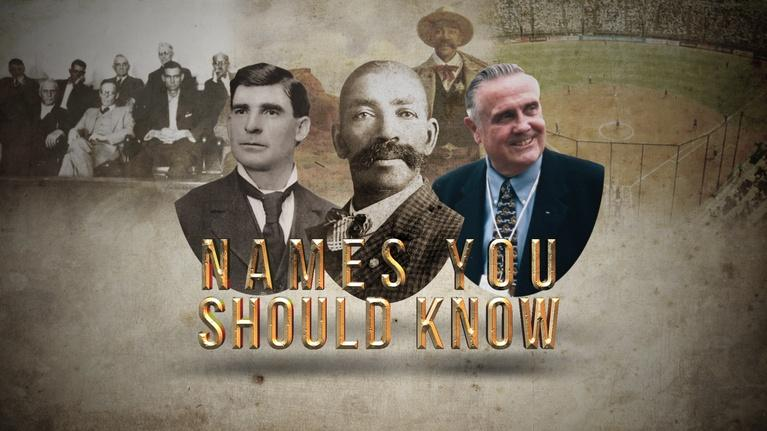 Back in Time: Names You Should Know