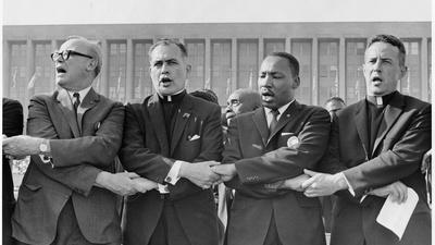 PBS NewsHour | Following Father Theodore Hesburgh through Civil Rights era