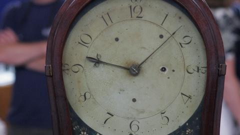 Antiques Roadshow -- Appraisal: Aaron Willard Shelf Clock, ca. 1785