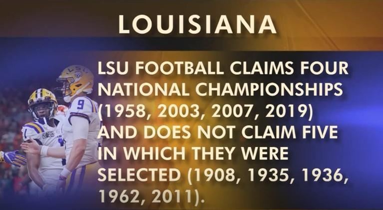 Louisiana: The State We're In: LSU G.O.A.T., Inaug. Day, Budget, Rethink ED