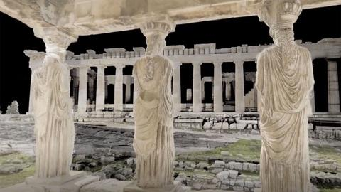 Ancient Invisible Cities -- The Acropolis in Virtual Reality