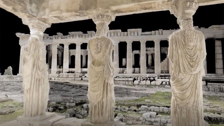 Ancient Invisible Cities: The Acropolis in Virtual Reality
