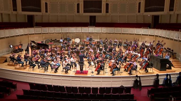 Chicago Tonight: Young Musicians Keep Civic Orchestra Vital on 100th Birthday