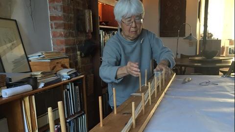 Craft in America -- Kay Sekimachi on card weaving