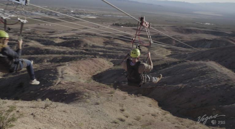 Outdoor Nevada: Ziplining Down the Mountain