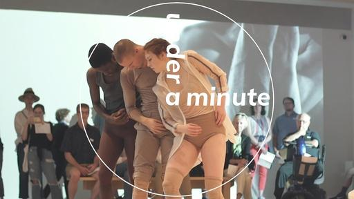 Under a Minute: Choreographer Andrea Miller (min. 10)